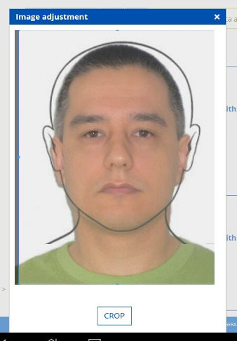 Submitting Brazil visa photo