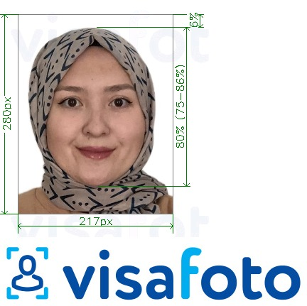 Example of photo for Malaysia EMGS educationmalaysia.gov.my online with exact size specification