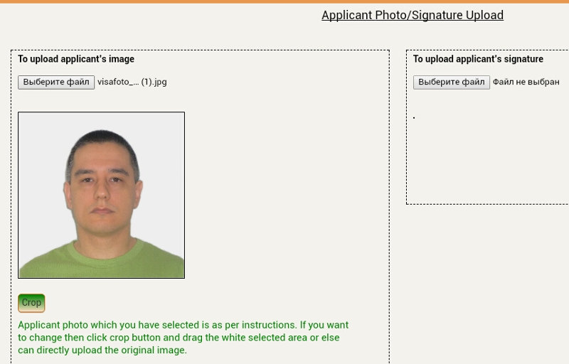 Make And Submit India Oci Passport Photo Online