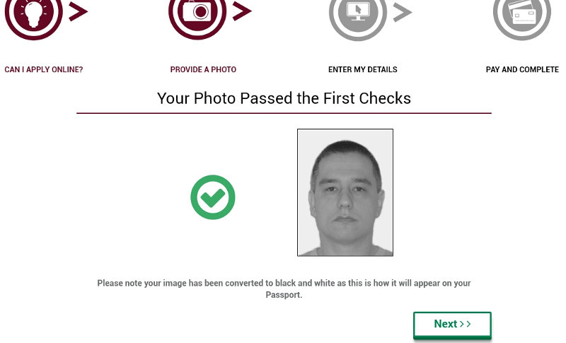 Making And Submitting Photo For Ireland Passport Online